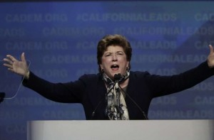 Delaine Eastin Arms Spread Out